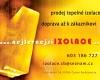 Nejlevnější izolace - prodej kvaliní tepelné izolace